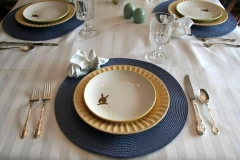 Simple, easy and look at those cute bunny plates!