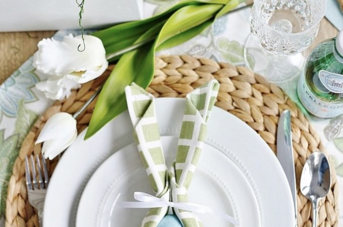Easy Easter Napkins