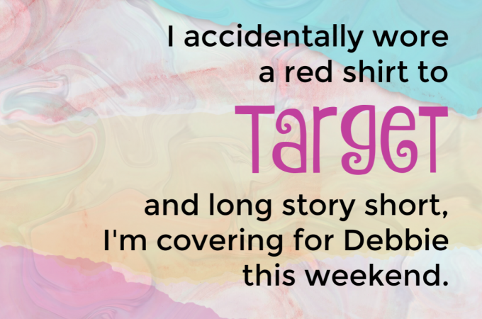Uh, Oh…Be Careful of that Red Shirt