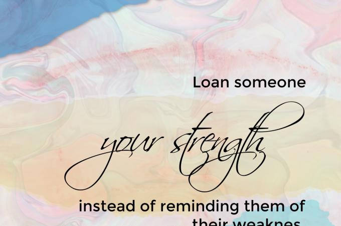 Loan Your Strength