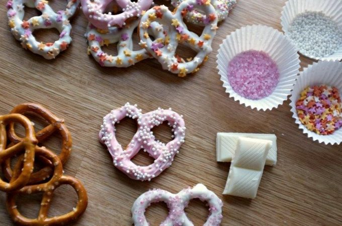 Candied Pretzels, Anyone?