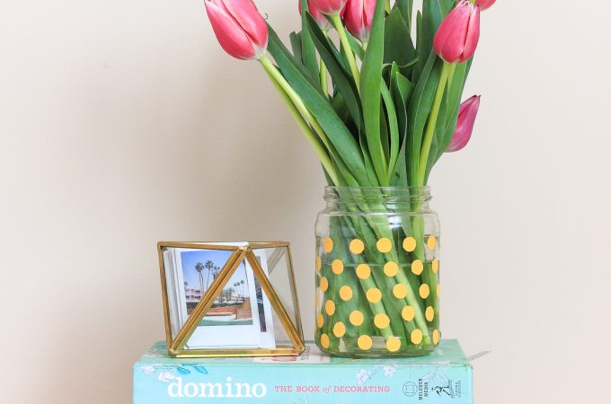 An Easy, Mess-free, DIY Vase